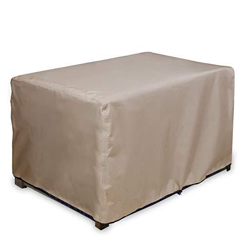Shunfaji - Funda protectora impermeable para muebles de patio (123 x 62 x 55 cm)