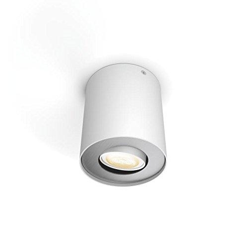Philips Hue LED Spot Pillar Erweiterung, alle Weißschattierungen, steuerbar via App, weiß, 5633031P8 - 3