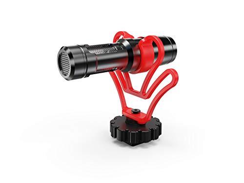 ACEMIC CAM50 - Micrófono universal para cámara de fotos digital,...