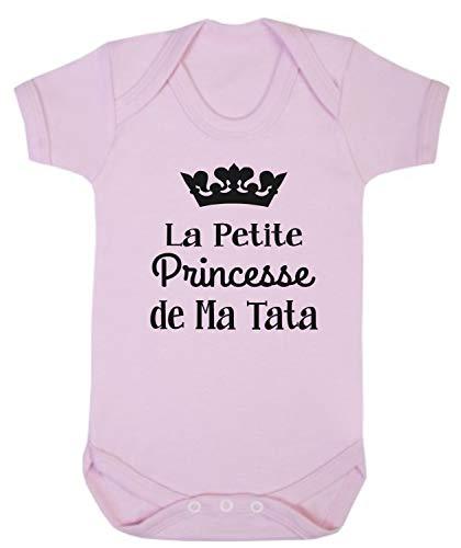 Click My Clobber, Bébé Body, La Petite Princesse De Ma Tata, Rose, 3-6M