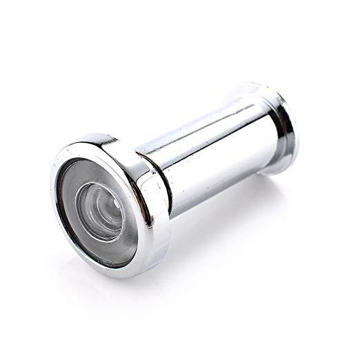 YPASDJH Puerta Visor de 180 Grados de ángulo Ancho Mirilla ocultado Seguridad Ajustables en la Puerta de Cristal de la Lente for Muebles Hardware Herramientas para Oficina en casa