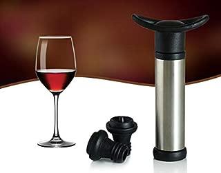 Wine Stopper - 2017 Wine Bottle Vacuum Sealer Saver Preserver 2 Pump Stopper Red Sn1435 - Stick Aerator Bulk Llama Tank Teacher Office Tower Turning Wicks