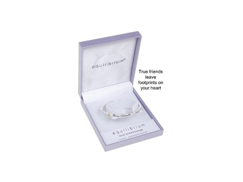 Equilibrium Jewellery - Silver Plated Friends Bangle