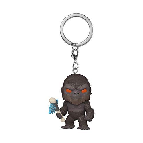 Funko 50958 Keychain: Godzilla Vs Kong-POP 3 Sammelbares Spielzeug, Mehrfarben