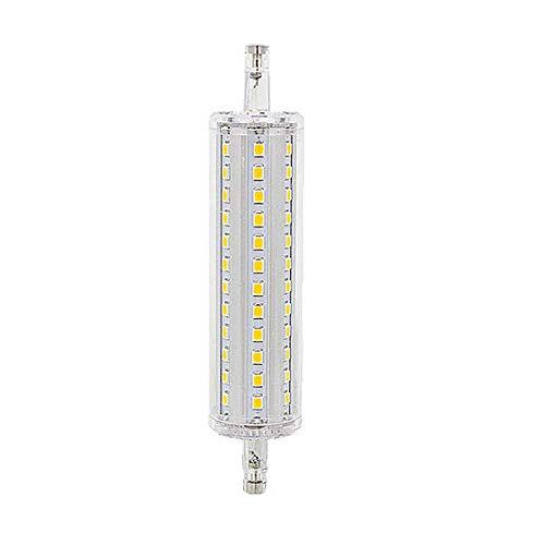 Hntoolight Dimmbare LED-Leuchtmittel, R7s, 78 mm, 118 mm, 135 mm, 189 mm, 7 W, 14 W, 20 W, 25 W, ersetzt Halogen-Lampen, 85 - 265 V, Wechselstrom, Warmweiß, warmweiß, R7S, 7.0W 265.0V