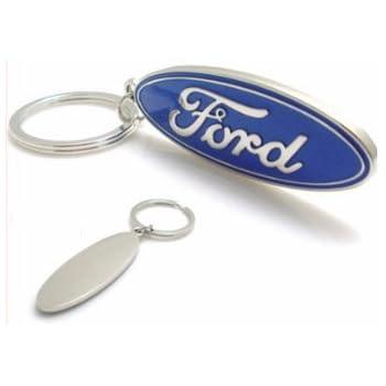 Ford Racing Enamel Key Chain
