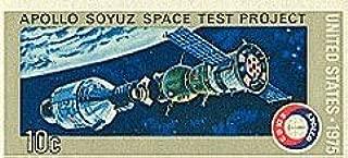 Single 1975 10 Cents US Postage Stamp, S# 1570, Apollo Soyuz