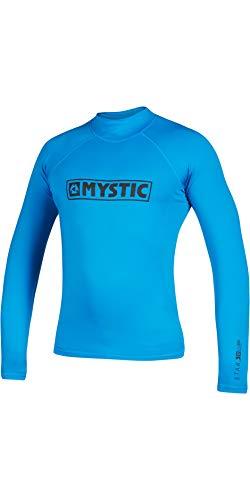 Mystic Chaleco de manga larga para deportes acuáticos, para surf, kitesurf y windsurf, color azul