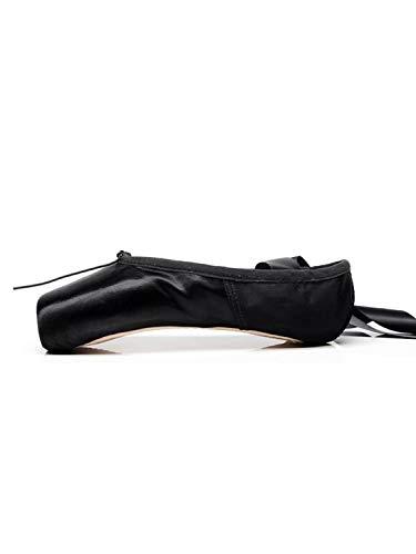 Tookang Zapatillas Punta de Ballet Clásico de Suela Partida para Mujer Niña y Adulta Zapatillas Blandas de Danza y Gimnasia