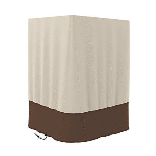 OhhGo Feuersäulen-Abdeckung, faltbar, staubdicht, wasserdicht, Sonnenschutz für Feuersäule, Schutz für Terrasse und Außenbereich