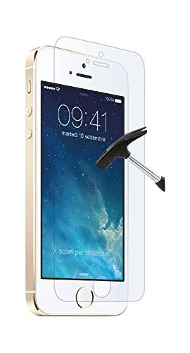 aiino italian ideas Pellicola Adesiva Protettiva Schermo Display Accessorio per Smartphone Cellulare iPhone 5/5S/5C Anti-Shock, Transparente