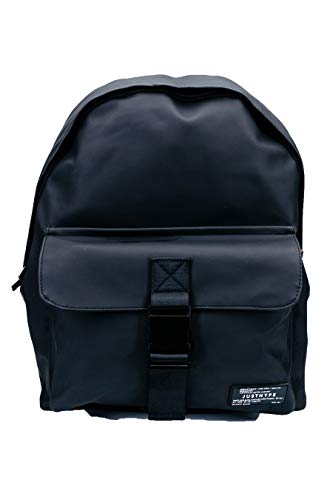 Hype Black Leather Civil Backpack