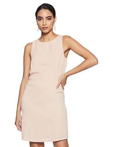 ONLY Damen onlCAROLINE S/L Dress WVN Kleid, Rosa (Rose Smoke Rose Smoke), 42
