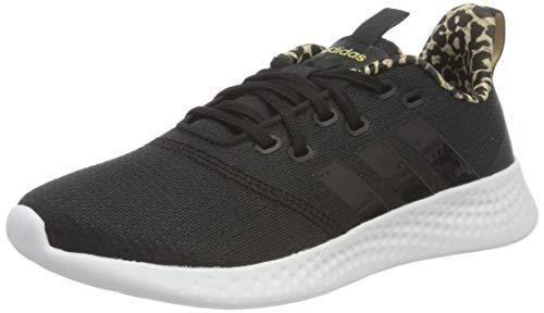 adidas Damen Puremotion Sneaker, Core Black/Core Black/Cardboard, 39 1/3 EU