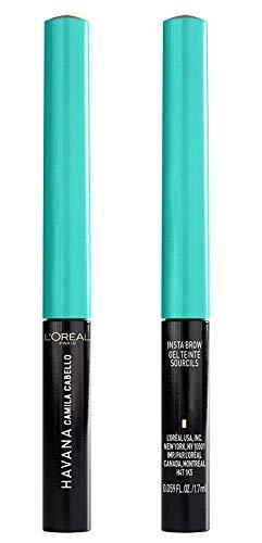 L'Oréal Paris Make-up designer, Camila Cabello Color para cejas Tono 02 Medium, 2.5 ml