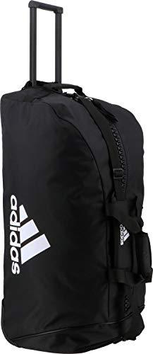 adidas, Trolley Bag, polyester, sporttas, zwart/wit, 804037 cm