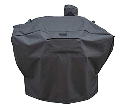 Patio King Grill Cover Replacement for Camp Chef Woodwind, SmokePro, All 24-Inch Pellet Grills - Upgraded Heavy Duty, Ultra-Durable, All-Weather Pellet Grill Cover - Charcoal Gray