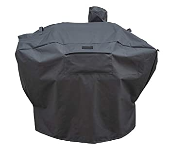 Patio King Grill Cover Replacement for Camp Chef Woodwind SmokePro All 24-Inch Pellet Grills - Upgraded Heavy Duty Ultra-Durable All-Weather Pellet Grill Cover - Charcoal Gray