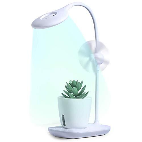 CUHAWUDBA Plant Grow Light,Luz de Lectura con 4 Modos, LáMpara de Escritorio para Ni?Os con ProteccióN Ocular,Luz de Planta Temporizador de Apagado AutomáTico,Cama Nocturna Flexible de 360 °