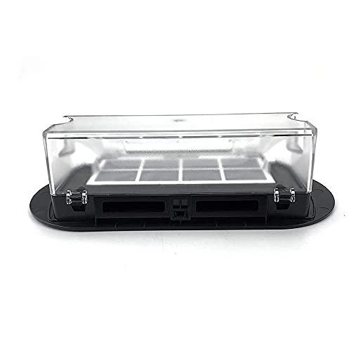 DDBAKT Caja de polvo de repuesto para limpieza en el hogar 360 S6 caja de almacenamiento de polvo para 360 S6 Robotic Home Cleaning (Color: Negro) (Color: Negro)