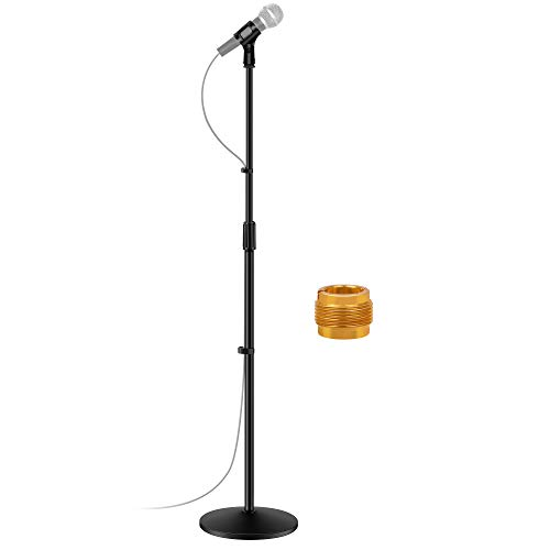 InnoGear Microphone Stand, Universal Mic Mount Detachable Mic Floor Stand with...