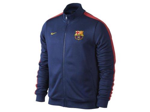2013-14 Barcelona Nike Authentic N98 Jacket (Navy)