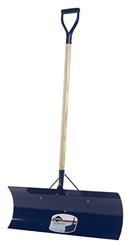 Garant YSP30D Yukon 30-Inch Steel Blade D-Grip Snow Pusher - Blue