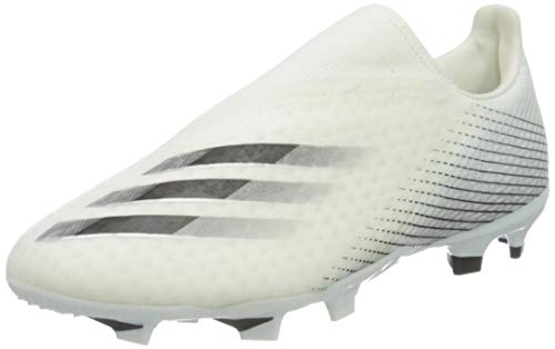 adidas X GHOSTED.3 LL FG, Chaussure de football Homme - noir blanc (Ftwbla Negbás Plamet) - 44 2/3 EU