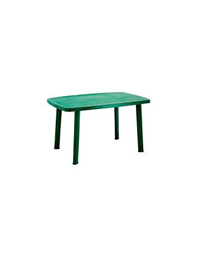 IpaeProgarden Table en Plastique, 85x137x72 cm, Vert