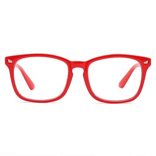 Óculos de Luz Azul Transparente UV400 Unissex