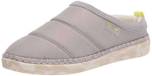 Dr. Scholl's Women's Cozy Vibes Slipper, Soft Grey, 4.5 UK