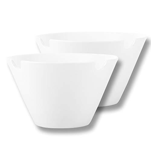 SDFVSDF Juego de 2 cuencos y cucharas para Ramen de porcelana – Cuenco para Noodle de Ramen japonés con palillos y cucharas, apto para microondas y lavavajillas, apilable, 800 ml
