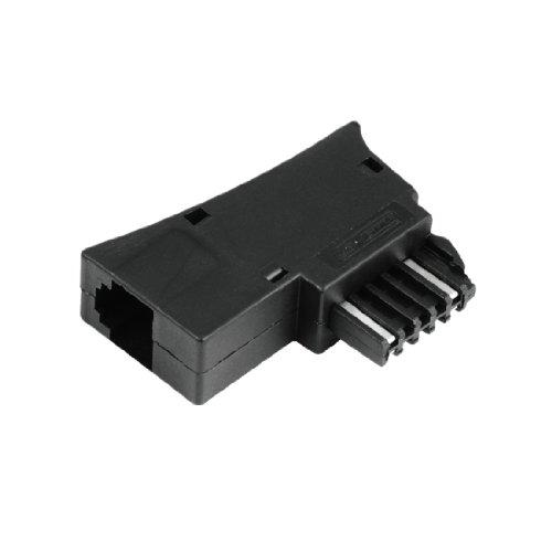 Hama Österreichischer Adapter, TST-Stecker - Modular-Kupplung 6P4C