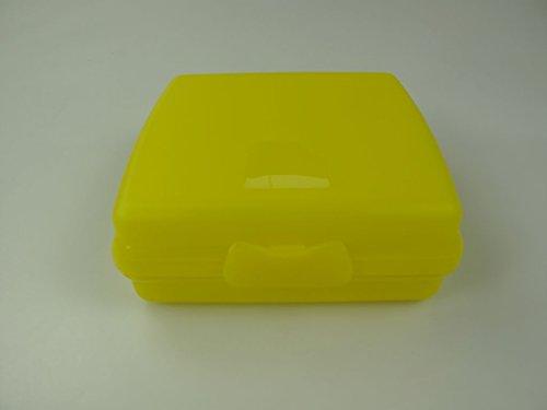 TUPPERWARE To Go Sandwich-Box gelb Brotbox Schule Pausenbrotbehälter A126 Dose