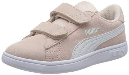 PUMA Smash v2 SD V PS, Zapatillas, Rosa (Rosewater White), 32 EU