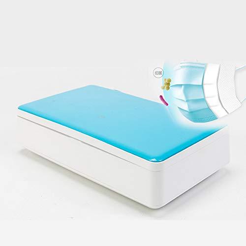LTLGHY Disinfettante UV per Smartphone, Sterilizzatore UV Portatile con Funzione di Aromaterapia Scatola Multifunzionale per La Disinfezione Automatica della Lampada A Raggi Ultravioletti