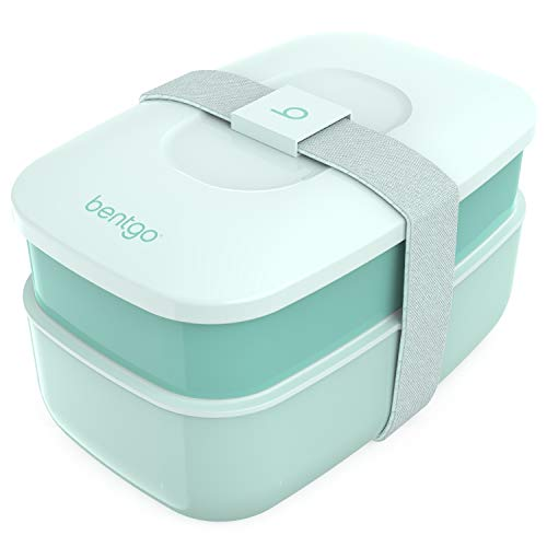Bentgo Classic – All-in-One Stackable Bento Lunch Box Container...