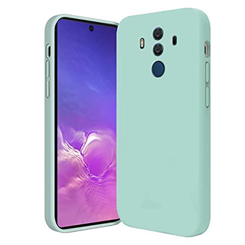 Compatibile con Smartphone Cover Huawei Mate 10 Pro Silicone, Custodia in Huawei Mate 10 Pro Case Morbido Verde, Posteriore Antiscivolo Sottile Huawei Mate 10 Pro Cover (Blu, Huawei Mate 10 Pro)
