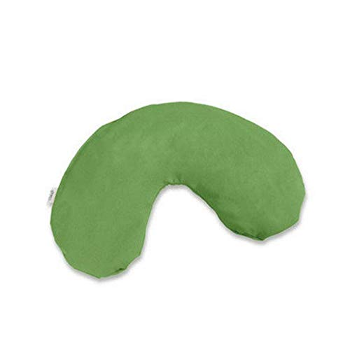 Almohada Avestruz Cervical Hombro Almohada Caliente y frío Bolso del Paquete de la Almohadilla del Recorrido for Adultos Coche, avión de la Siesta Almohada (Color: Verde) (Color : Green, Size : -)
