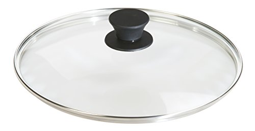 Lodge Tempered Glass Lid (10.25 Inch) – Fits Lodge 10.25 Inch Cast Iron Skillets and 5 Quart Dutch Ovens