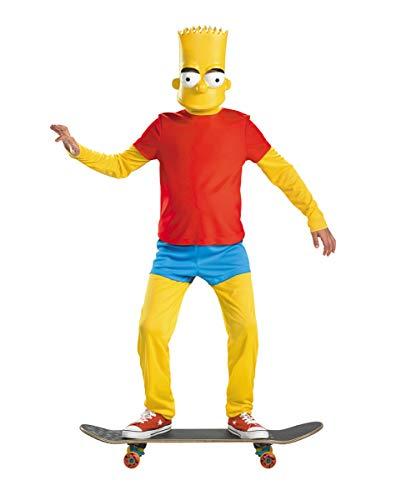 Horror-Shop Bart Simpson Deluxe Disfraz para Nios M