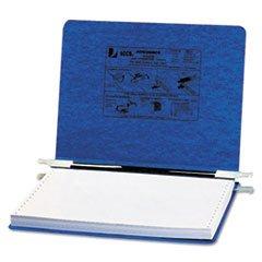 - Pressboard Hanging Data Binder, 12 x 8-1/2 Unburst Sheets, Dark Blue