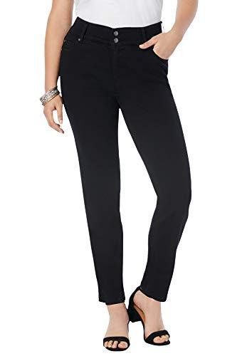 Roamans Women's Plus Size The Straight-Leg Curvy...