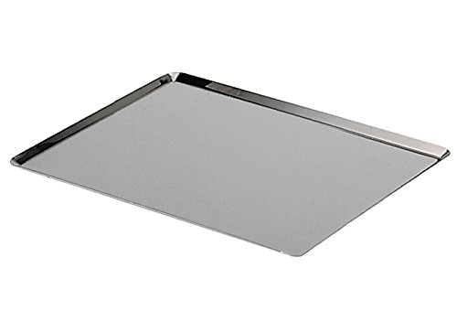 De Buyer 3361.40 Tablett, rechteckig, Edelstahl, 37,5 x 27 x 0,7 cm