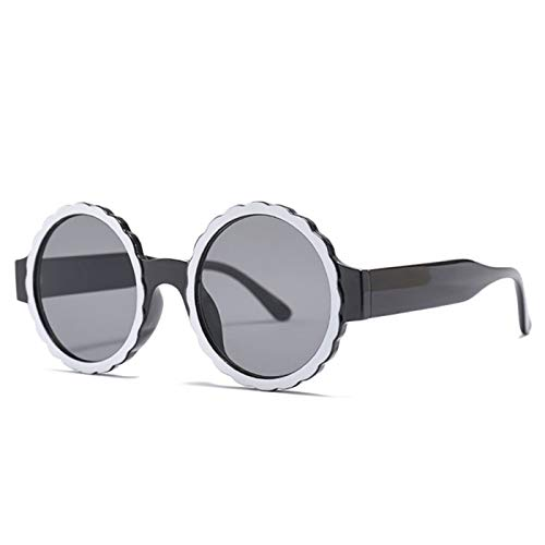 Daawqee New Style Round Frame Women Sunglasses Elegant Female Sun Glasses UV400 Eyewear Vintage Lady Shades Oculos De Sol Gafas