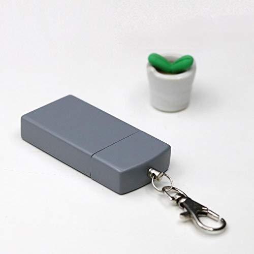 SHYPT Mini im Freien bewegliche Taschen Slide Sealed Schlüsselanhänger Aschenbecher Metall Taschenascher Aschenbecher