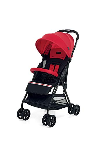 Foppapedretti Piùleggero Passeggino Leggero e Compatto, Rosso (Sport Red)