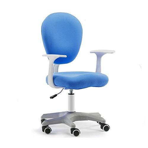 FENGFAN Studie Stoel, Kinderstoel Schrijfstoel Comfortabele Ademende Stoel Makkelijk schoon te maken Stoel Studentenstoel