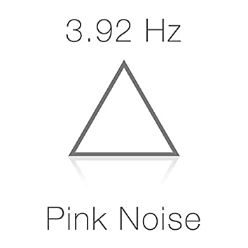 3.92 Hz Delta Wave Schumann Sub-Resonance and Pink Noise for Deep Sleep
