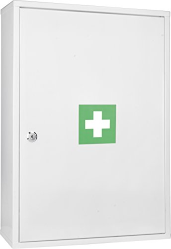 winbest Large Wall Mount Steel Medical Medicine Cabinet